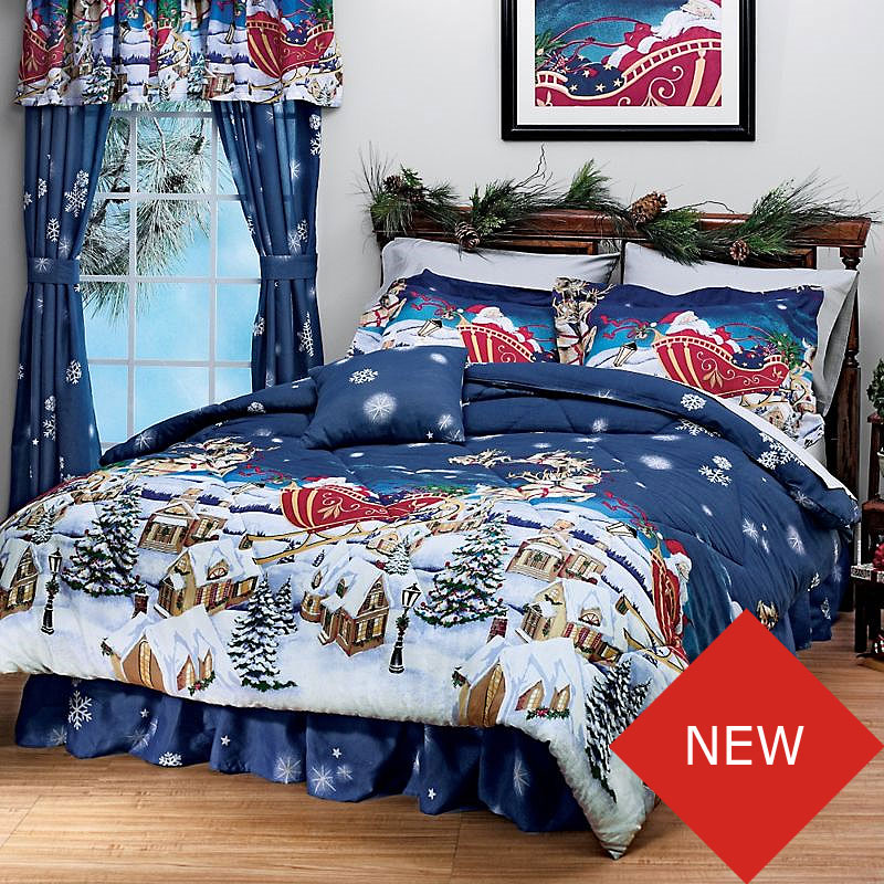 Holiday Bedding for Deep, Sweet Dreams If you're a Christmas-lover who enjoys adding holiday cheer to the entire house, then you'll adore our Christmas bedding from Collections Etc.