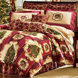 4pc Christmas Tree Xmas Full Bed In Bag Holiday