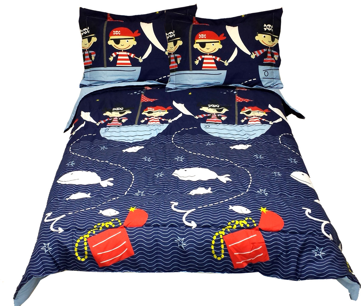Pirates Bed Comforter Set
